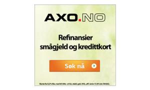 Annonse Axo Finans - Frogner Media